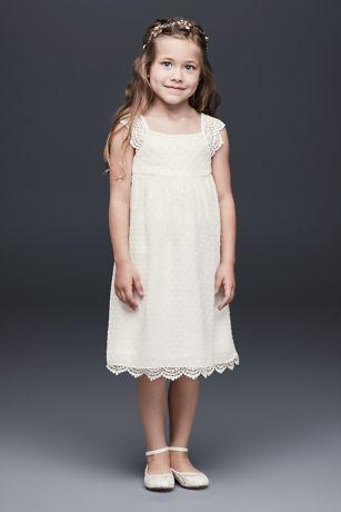 Crochet Flower Girl Dress