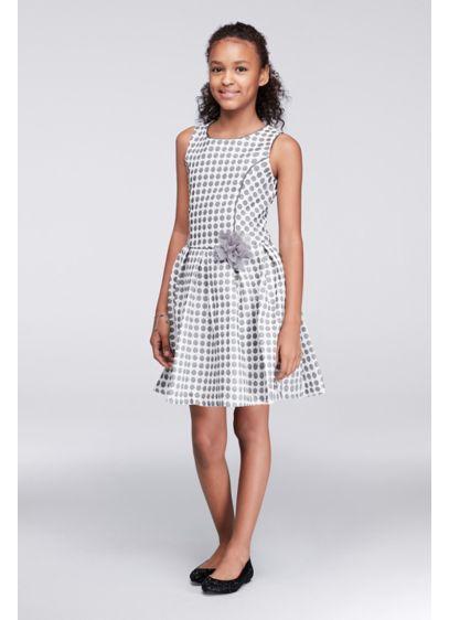 Short Black Soft & Flowy Bonnie Jean Bridesmaid Dress
