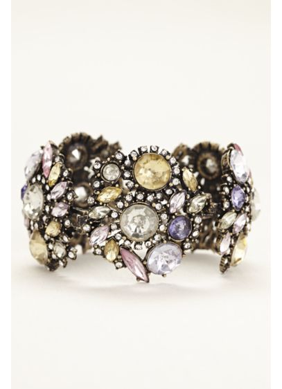 Multi Stone Colored Bracelet - Wedding Accessories