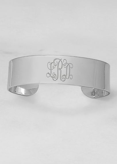 Personalized Wide Cuff Bracelet B9154S