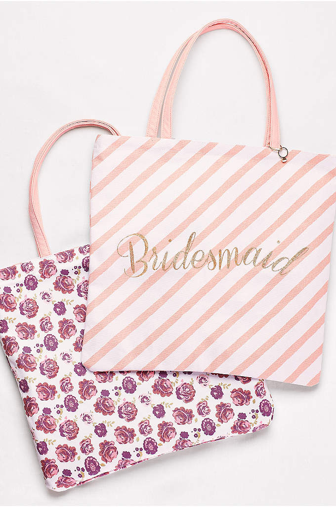 Reversible Bridesmaid Tote - This genius tote showcases your bridesmaid pride on