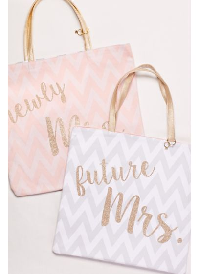 Reversible Mrs. Tote - Wedding Gifts & Decorations