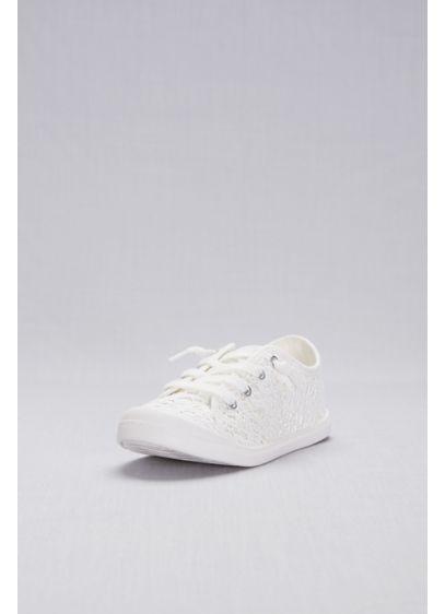 Madden Girl White (Crochet Lace Sneakers)