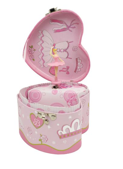 Heart Shaped Musical Jewelry Box - Wedding Gifts & Decorations