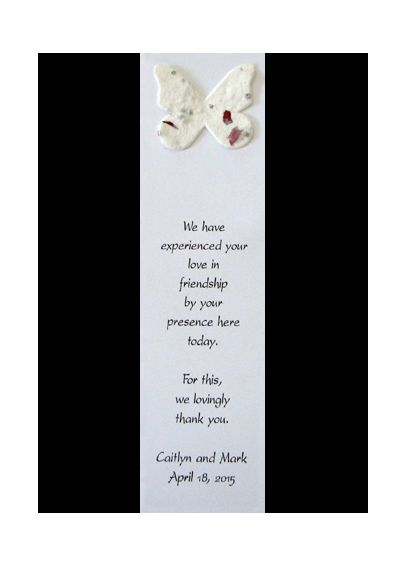 Personalized Blooming Bookmark Verse 3 BB-03