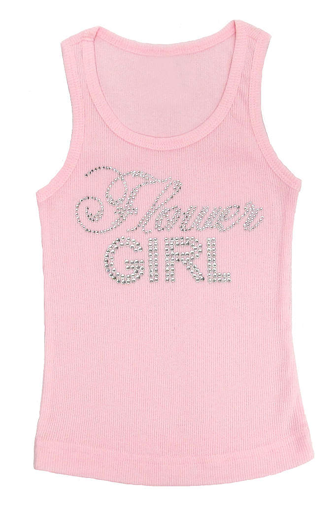 Big Bling Flower Girl Tank Top - How cute - A Big Bling tank top