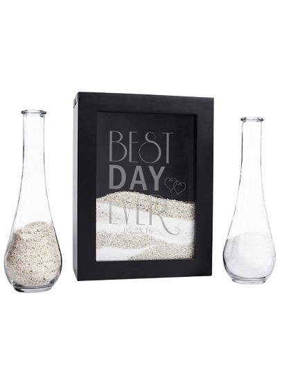 Personalized Best Day Ever Unity Shadow Box Set - Wedding Gifts & Decorations