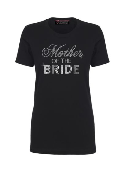 Mother of the Bride Big Bling T-Shirt - Wedding Gifts & Decorations