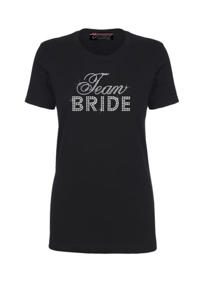 Team Bride Big Bling T-Shirt - Wedding Gifts & Decorations