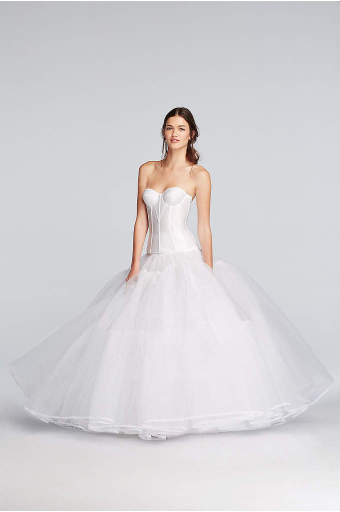 Extreme Ball Gown Hoop Slip - This pull-on slip features a high waist and