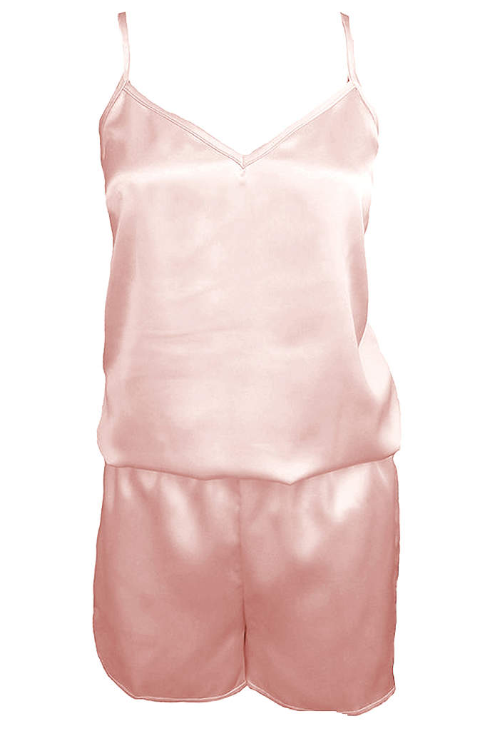 Blank Satin Romper - You and your girls will love getting ready
