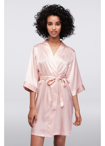 Blank Luxury Satin Robe - Wedding Gifts & Decorations