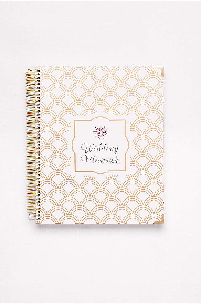 Gold Foil Wedding Planner - Stay on track and stress-free with this ingenious