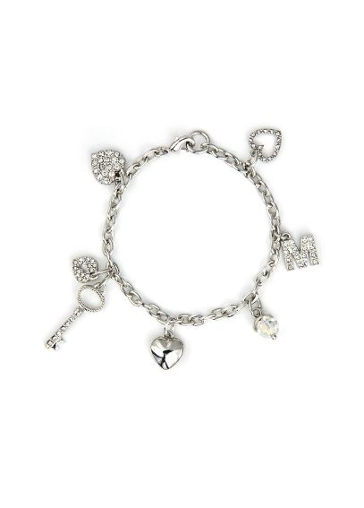 DB Exc Personalized Key To My Heart Charm Bracelet BR3689