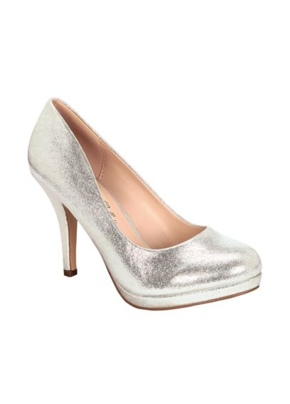 Metallic Closed Toe Pump BROBIN23