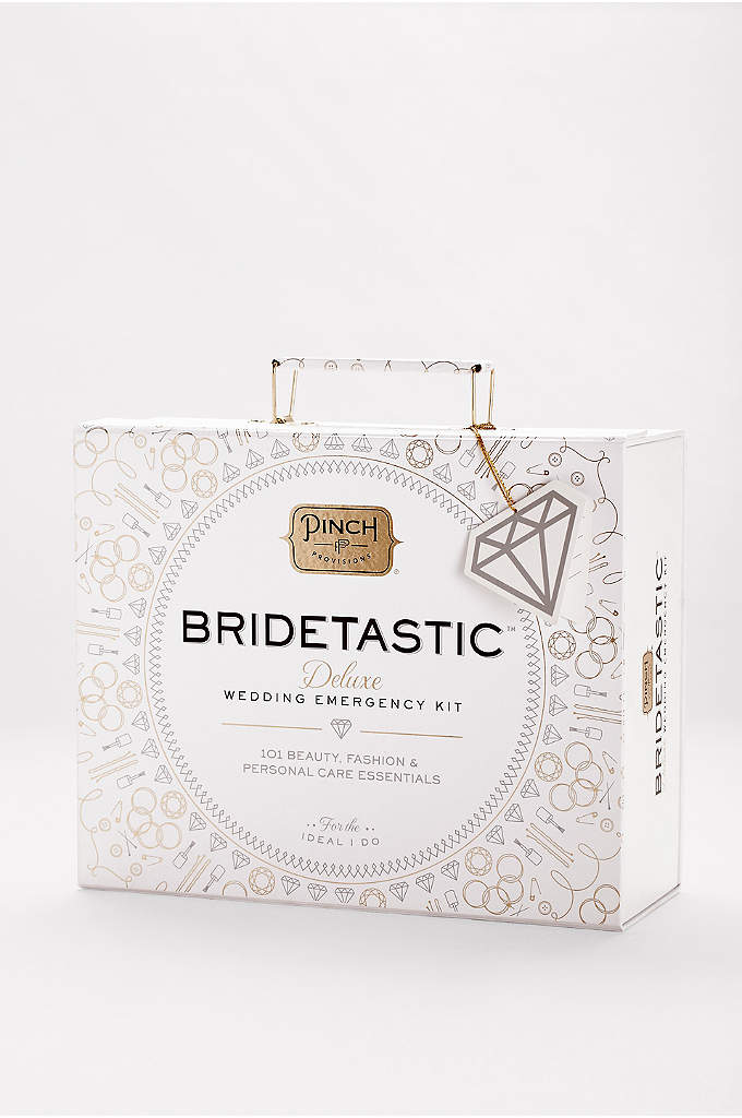 Bridetastic Wedding Emergency Kit - This deluxe Wedding Emergency Kit contains just about