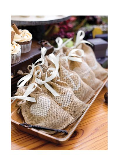 Burlap Favor Bags Pack of 25 BurlapFavorBag