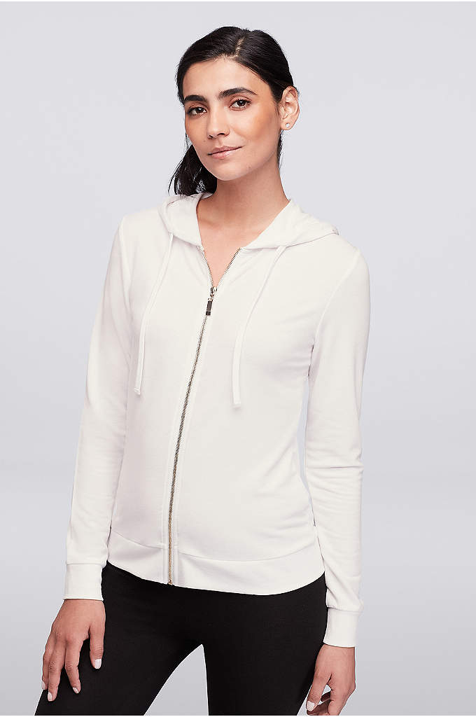 Bride Zip-Up Hoodie - This cozy hoodie, with