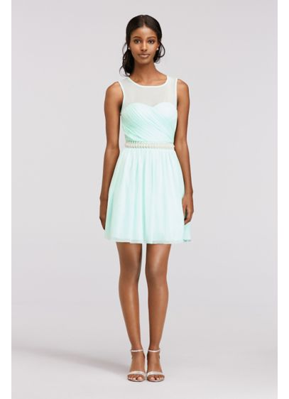 Short A-Line Tank Cocktail and Party Dress - Speechless