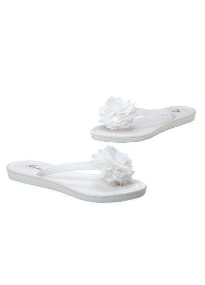 Flower Girl Flip Flop with Flower CARNIE