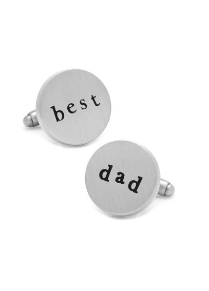 Best Dad Cufflinks CC-DAD-SL