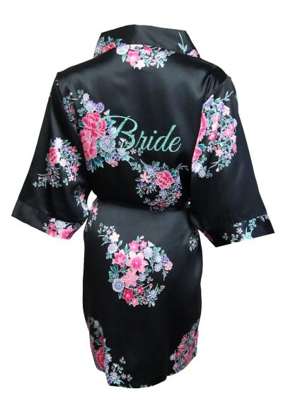 Floral Robe with Glitter Bride CECEROBE