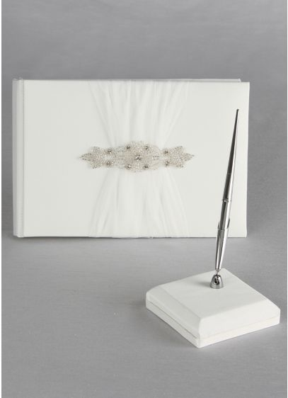 Ivory (DB Exclusive Sparkle Guest Book and Pen)