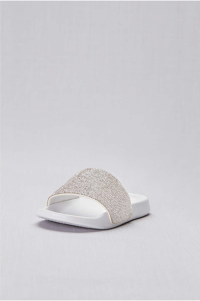 Crystal-Encrusted Slides - Rows and rows of tiny crystals top this