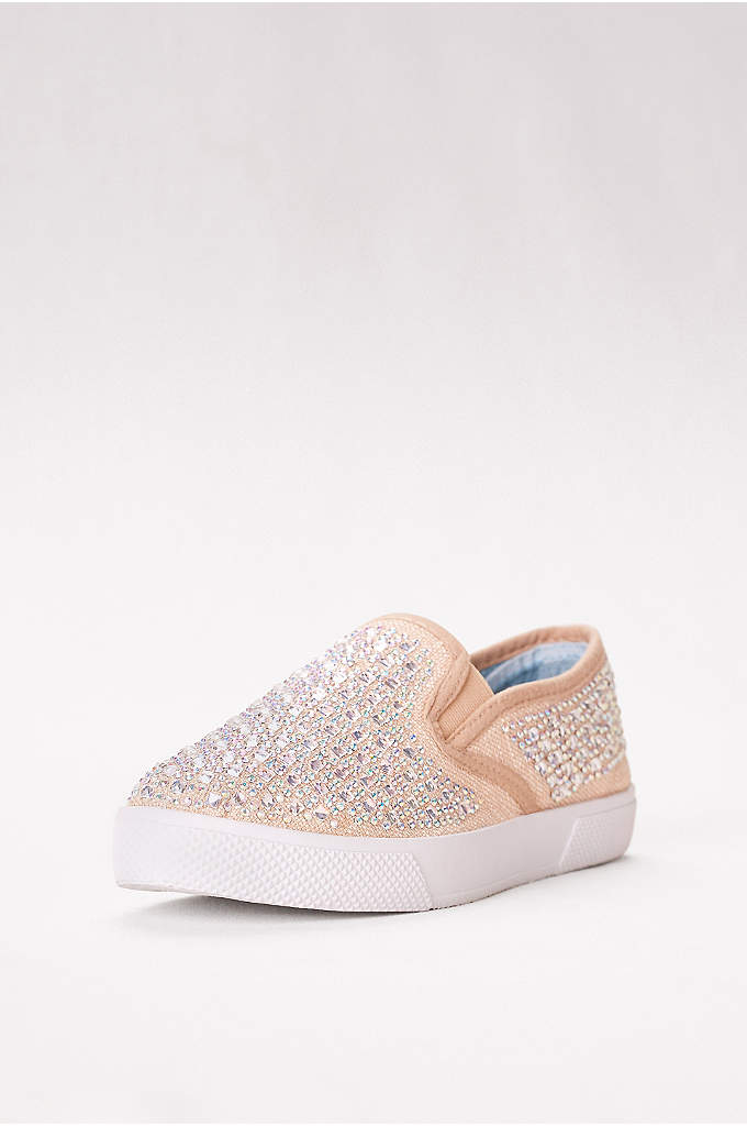 Embellished Slip-On Sneaker - Slip into a shoe that can follow your