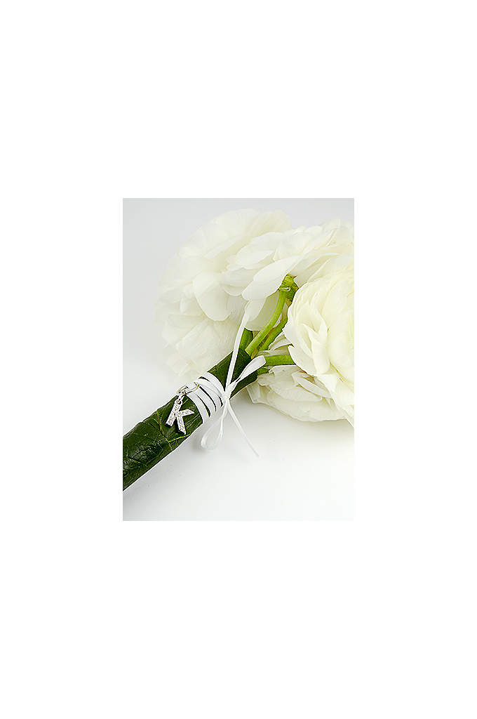 DB Exclusive Initial Bouquet Charm - Sometimes the smallest details make the biggest impact.