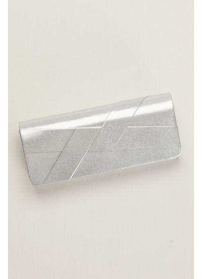 Metallic Crisscross Clutch - Wedding Accessories