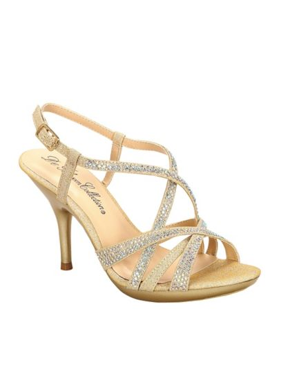 Crystal Embellished Strappy Sandal by Blossom CLIN102