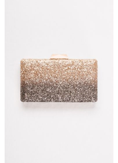 Ombre Glitter Minaudiere - Wedding Accessories
