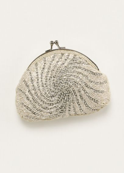 Jessica McClintock Bead and Sequin Handbag COMET