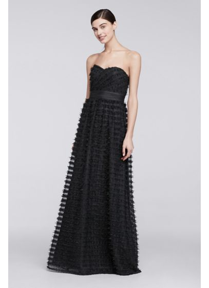 Long A-Line Strapless Cocktail and Party Dress - Cheers Cynthia Rowley