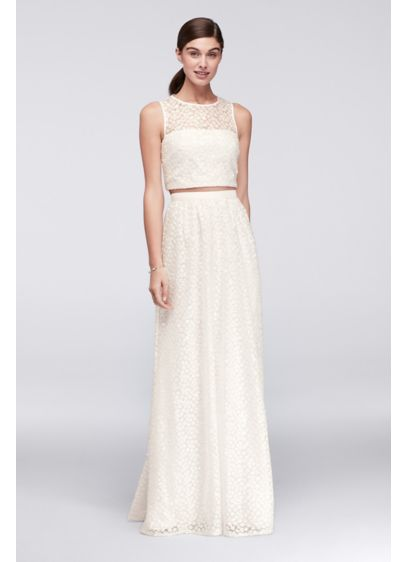 Long Sheath Wedding Dress - Cheers Cynthia Rowley