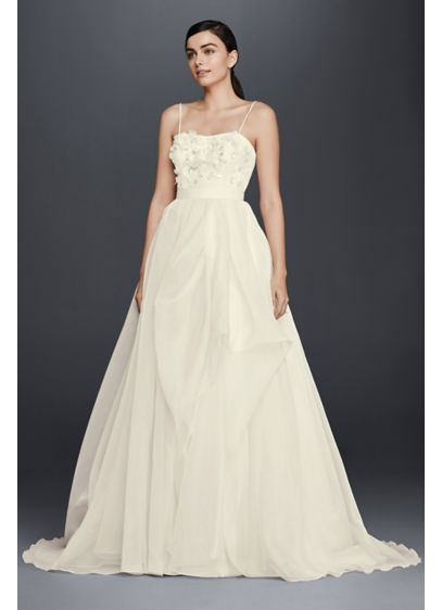Long A-Line Romantic Wedding Dress - Cheers Cynthia Rowley