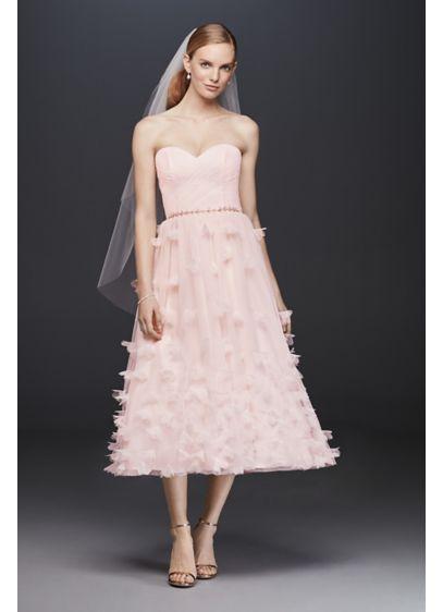 Short A-Line Beach Wedding Dress - Cheers Cynthia Rowley
