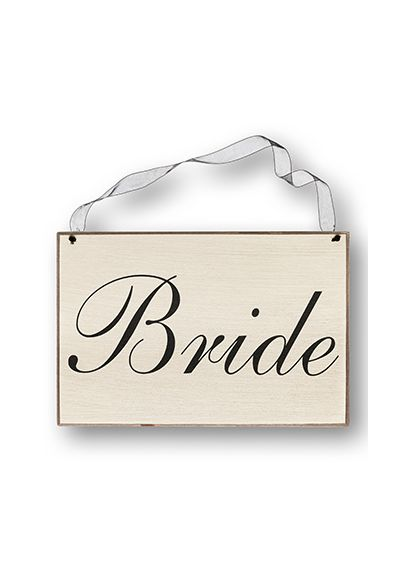 Bride Chair Sign - Wedding Gifts & Decorations