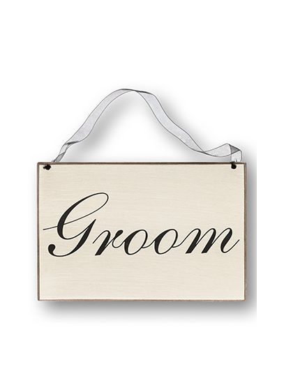 Ivory (Groom Chair Sign)
