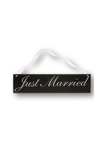 Just Married Chair Sign - Wedding Gifts & Decorations