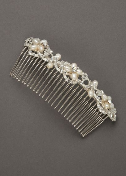 Embellished Geometric Shaped Comb CWG3071