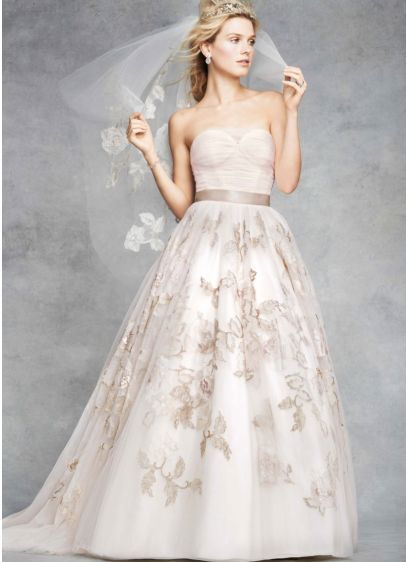 Long Ballgown Formal Wedding Dress