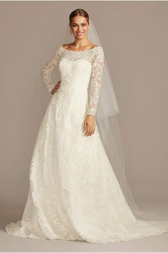 Elegant Off the Shoulder Wedding Dresses