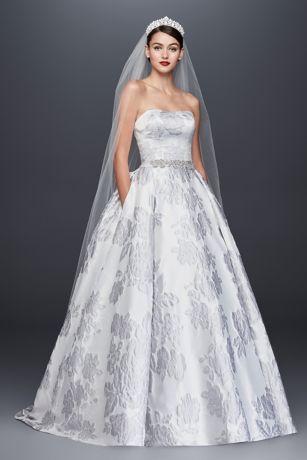 Brocade Wedding Dress