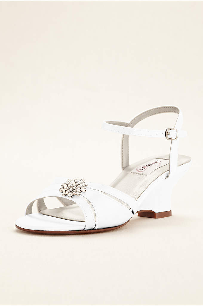 Cassie Dyeable Low Wedge Sandal - Who says you have to sacrifice style for