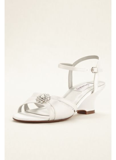 Cassie Dyeable Low Wedge Sandal