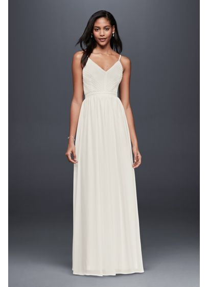 long sheath beach wedding dress soieblu