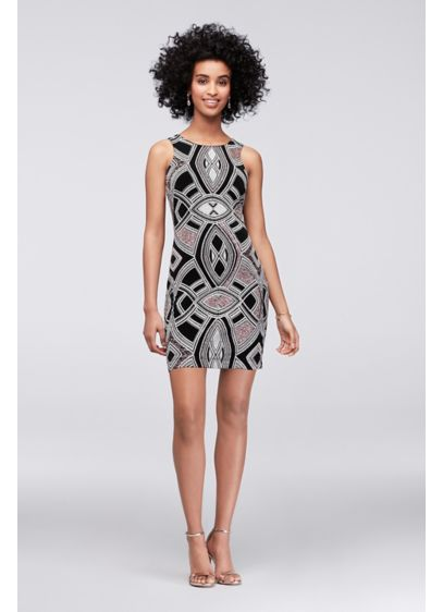 Short Sheath Tank Cocktail and Party Dress - Speechless