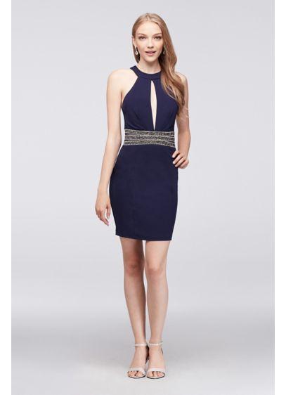 Short Sheath Strapless Prom Dress - Speechless
